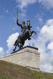 大诺夫哥罗德,俄罗斯- 2015年8月08日:胜利纪念碑照片  免版税库存图片