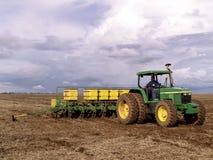 大豆种植 免版税库存照片