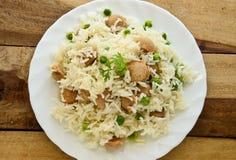 大豆米 免版税库存照片
