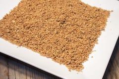 大豆蛋白粒子 库存照片