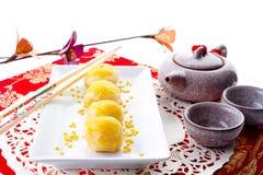 大豆stly甜点汉语 库存照片