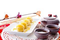 大豆stly甜点汉语 免版税库存照片