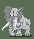 大象传染媒介 库存图片