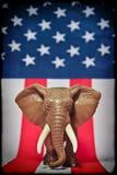 大象共和党人 免版税图库摄影