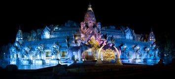 大象剧院,普吉岛泰国的普吉岛FantaSea宫殿 库存照片