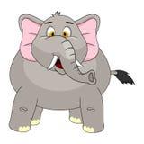 大象动画片传染媒介例证 库存图片