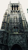 大象和城堡的教会 免版税库存图片