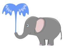 大象喷泉 库存照片