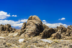 大象岩石,阿拉巴马小山,内华达山 库存照片