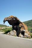 大象岩石 库存图片