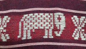 大象布料张,泰国亚洲泰国 库存图片