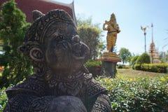 大象带头的神 免版税图库摄影