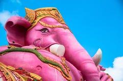 大象朝向神 免版税图库摄影