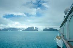 大象海岛,南极洲冰川  免版税图库摄影