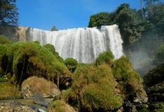 大象瀑布在越南 免版税库存照片