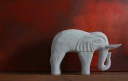大象白色 免版税图库摄影