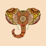 大象的例证 免版税库存图片