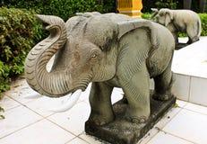 大象石头 免版税图库摄影
