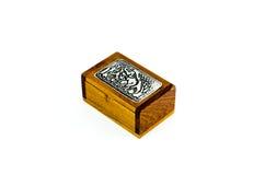 大象礼物盒,被隔绝的,泰国礼物 免版税库存图片