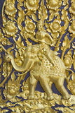 大象神金子 库存图片