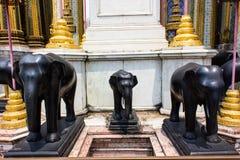 大象雕象3。 免版税库存照片