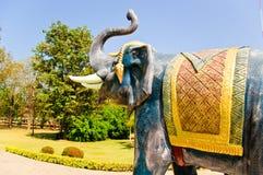 大象雕象 图库摄影