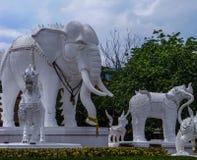 大象stutue 免版税库存照片