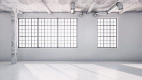 大豪华现代明亮的内部公寓客厅3D关于 免版税图库摄影