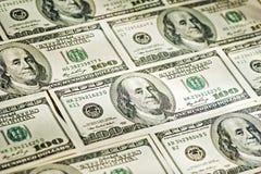 大货币特写镜头 库存照片