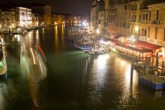 大运河在威尼斯,意大利 免版税库存照片