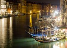 大运河在威尼斯 免版税库存照片
