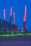 大运河正方形,都伯林 免版税库存图片