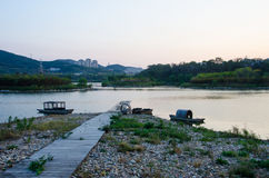 大连Xishanhu公园 免版税图库摄影