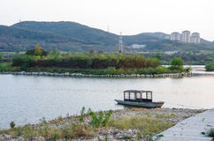 大连Xishanhu公园 图库摄影