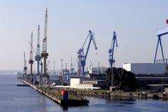 大造船厂 库存照片