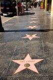 大道名望好莱坞结构 库存照片