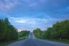 大道在秋天 免版税图库摄影