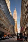 大道城市第五曼哈顿纽约 免版税库存图片