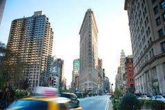 大道城市第五纽约 免版税库存照片