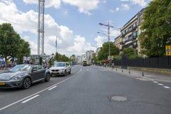 大道富兰克林・德拉诺・罗斯福在卢森堡的中心 库存图片