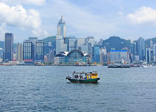 大道香港星形 免版税库存图片