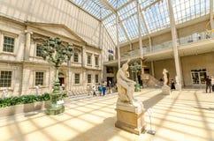 大都会艺术博物馆,纽约,美国 免版税库存照片