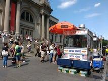 大都会艺术博物馆,见面,纽约,美国 免版税库存照片