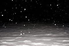 大量下雪 库存图片