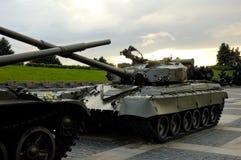 大量坦克 库存照片