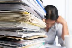 大量工作量 免版税库存图片