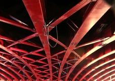 大量桥梁的大梁 库存照片