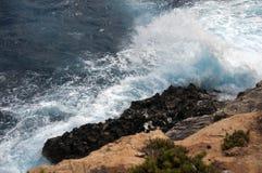 大量海岛马耳他通知 库存照片