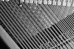 大钢琴串 免版税库存图片