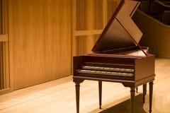 大键琴 免版税库存图片